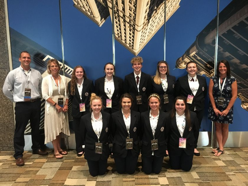 Pioneer Students Compete at HOSA International Competition
