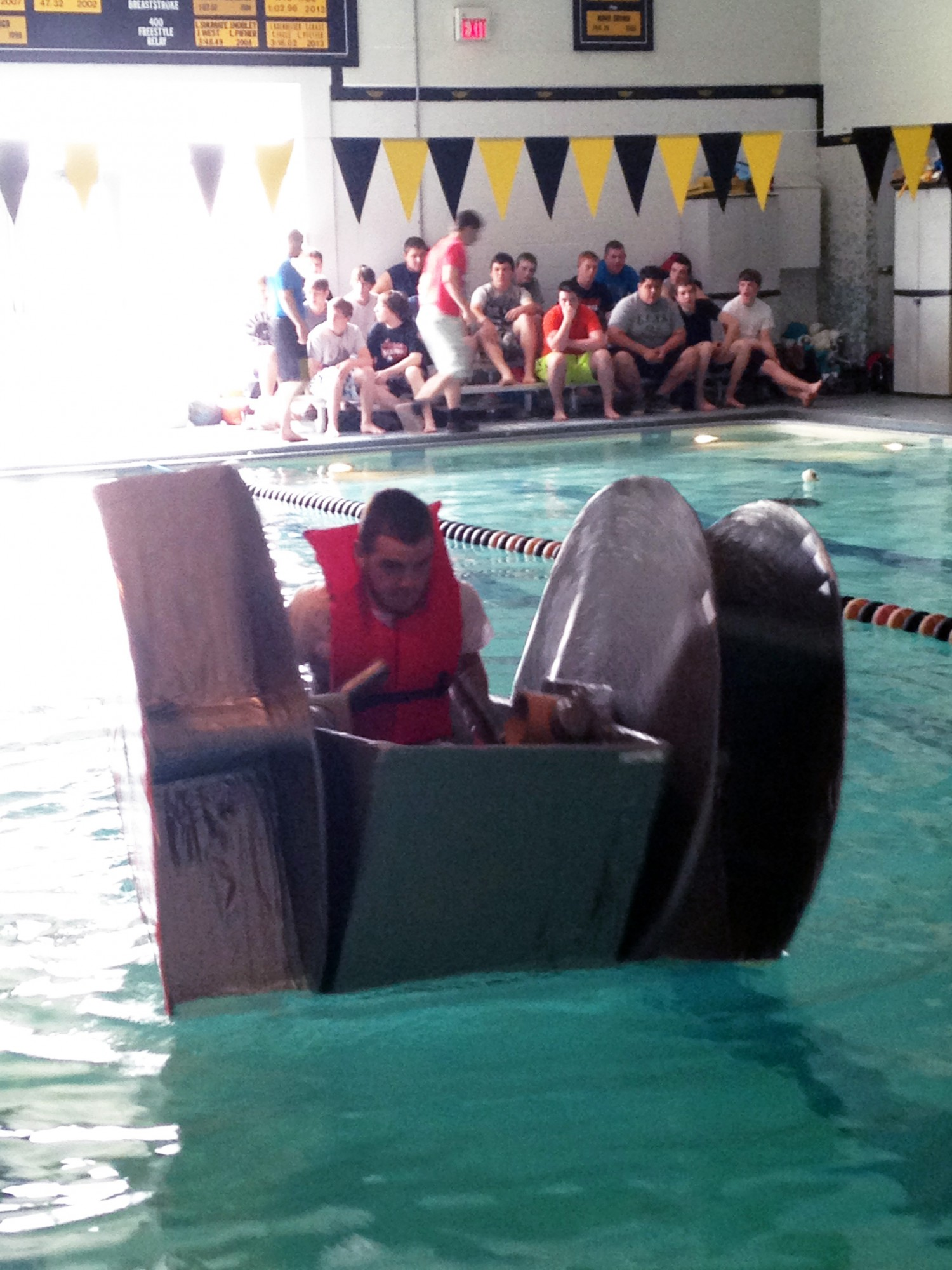 Pioneer's fifth annual Cardboard Boat Regatta!