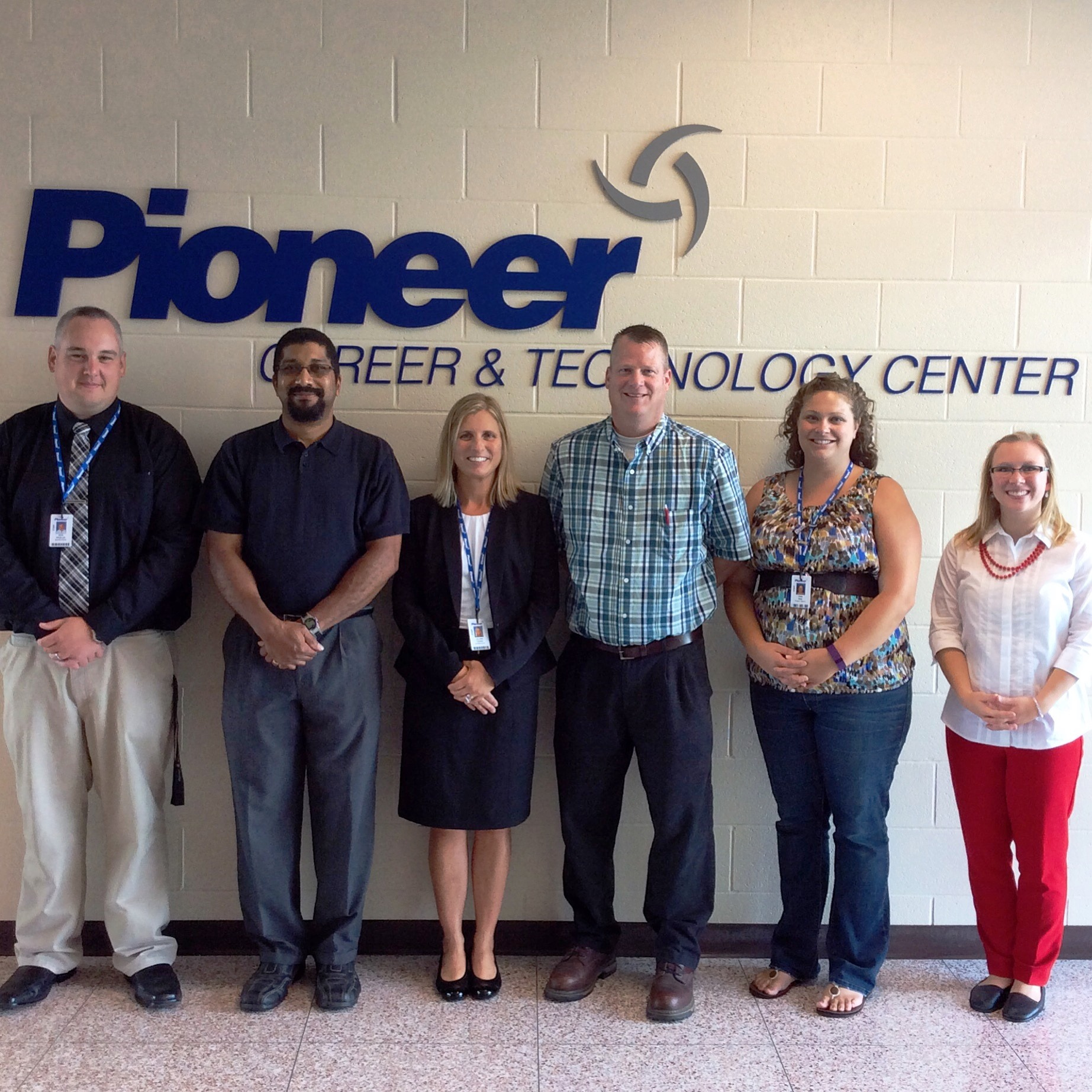 Welcome New Pioneer Staff!